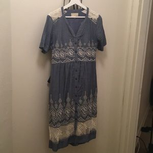 Moulinette Soeurs Dresses - Anthropologie midi length dress